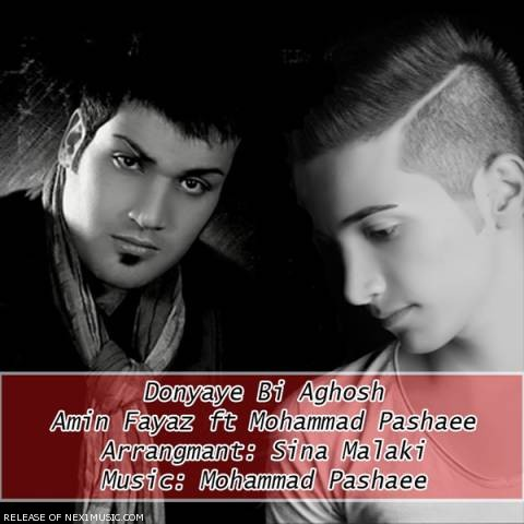 142064479915129616amin fayyaz ft. mohammad pashaee donyaye bi aghoush - دانلود آهنگ امین فیاض و محمد پاشایی به نام دنیای بی آغوش